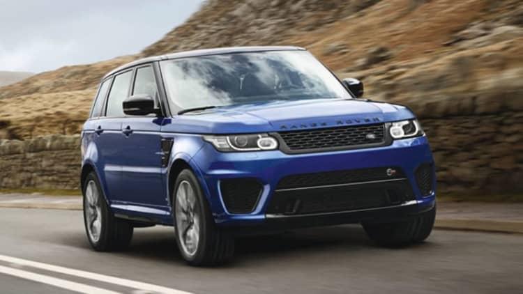 Range Rover Sport SVR rumbles into Harry's Garage