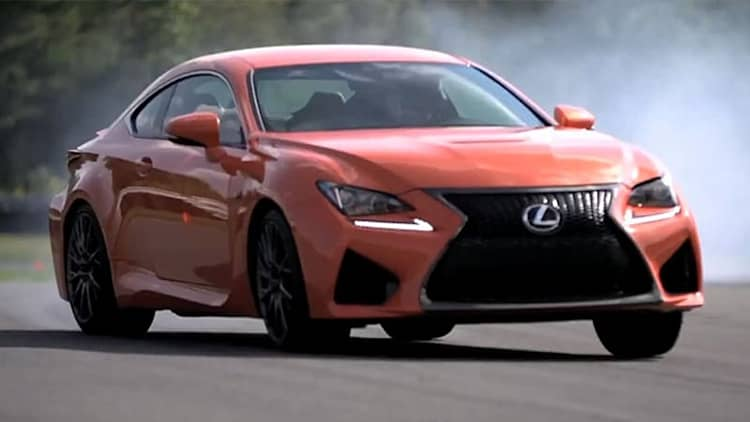 Chris Harris flogs the Lexus RC F