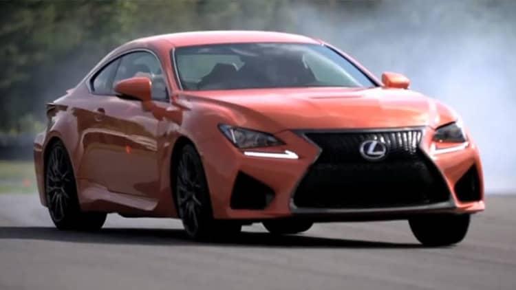 Chris Harris flogs the Lexus RC F