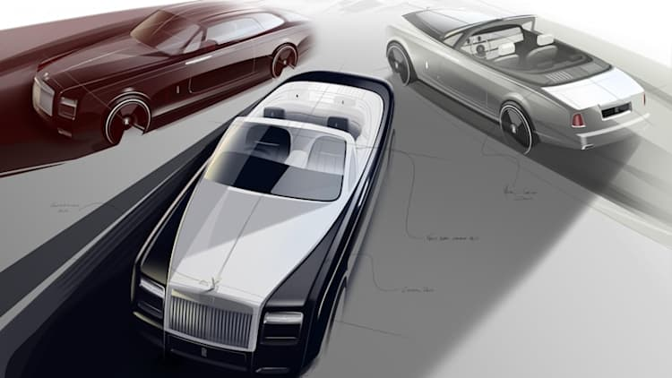 Rolls-Royce commemorates end of Phantom with Zenith models