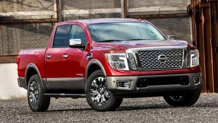 The 2017 Nissan Titan half-ton is here