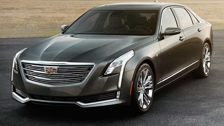 2016 Cadillac CT6 shows crisp sense of style in leaked images