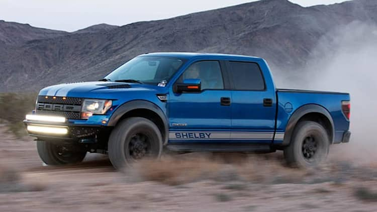 Shelby Baja 700 takes Ford F-150 SVT Raptor to the next level