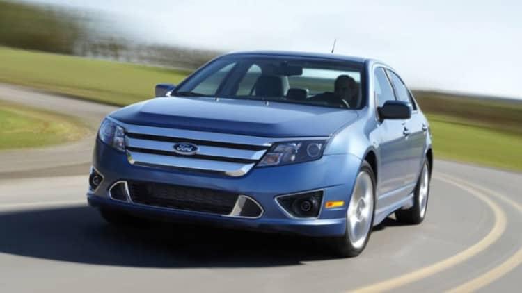 Ford recalling 450,000 Fusion, Mercury Milan sedans