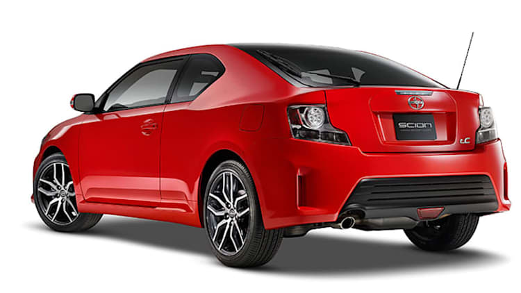 Scion tC changes, barely, for 2016