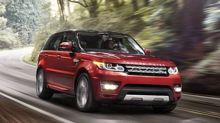 Land Rover recalling 62,000 SUVs for faulty occupant sensor