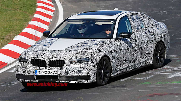 Next BMW 5 Series hits the 'Ring