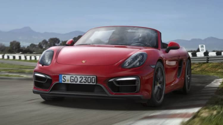Porsche to introduce new Boxster Spyder, Macan GTS this year