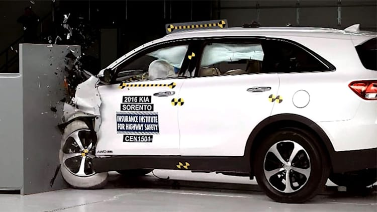 2016 Kia Sorento now an IIHS Top Safety Pick