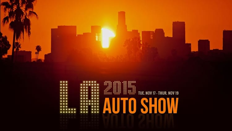 Your spotters guide to the 2015 LA Auto Show