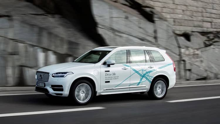 Volvo to go autonomous only when 'it's not really fun to drive'