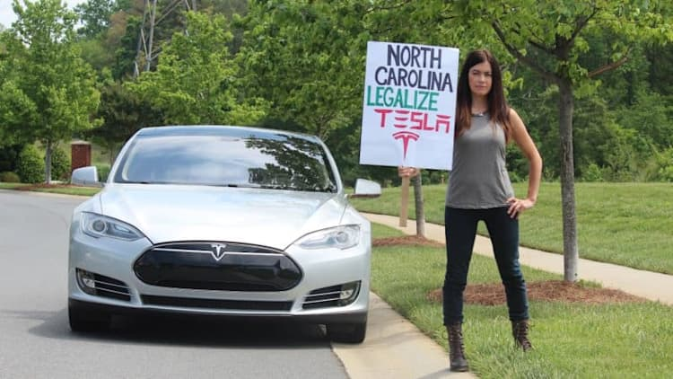 Tesla loses fight to open second store in North Carolina