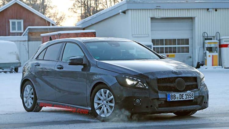 Mercedes A-Class next up for facelift