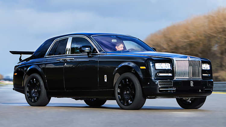 Check out Rolls-Royce's totally awesome AWD mule