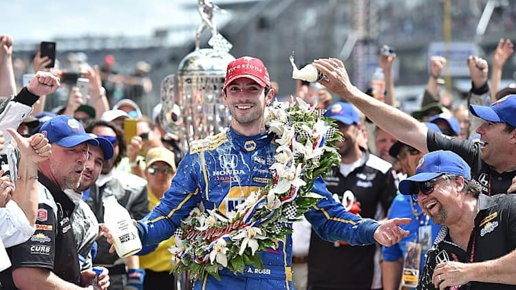 Rookie Alexander Rossi wins 100th running of Indy 500