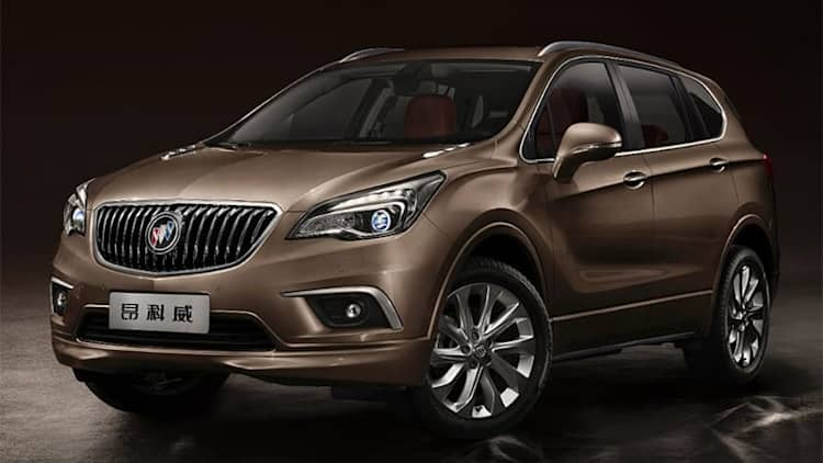Buick Envision arrives in US next year