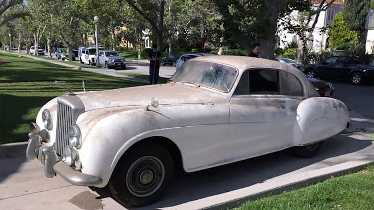 Ian Fleming's Bentley R-Type rediscovered in an L.A. garage
