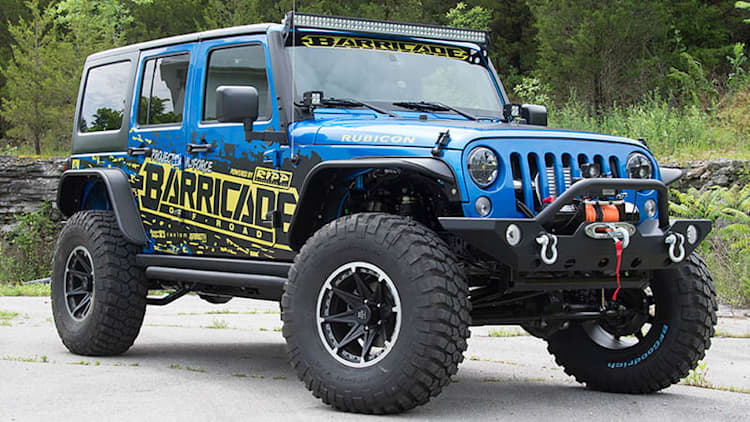 Project Trail Force Jeep Wrangler goes to SEMA, then to a lucky winner