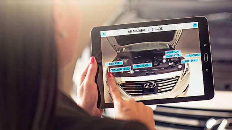 Hyundai Virtual Guide is an owner's manual for your phone