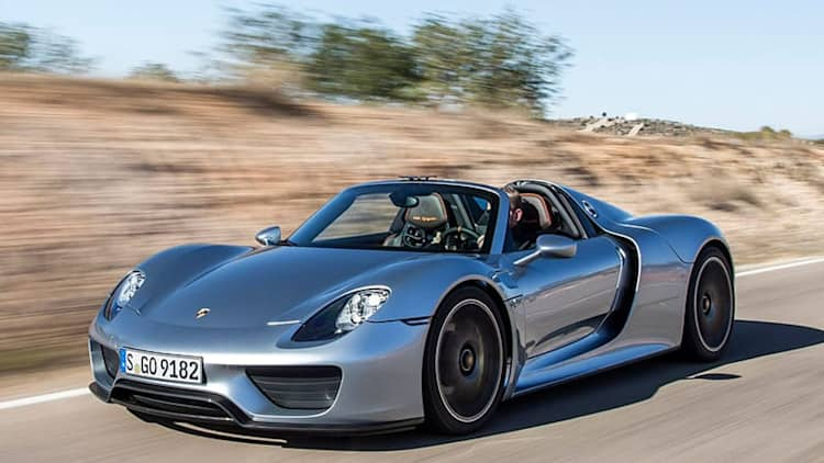 Porsche 918 Spyder recalled over bad wiring harness