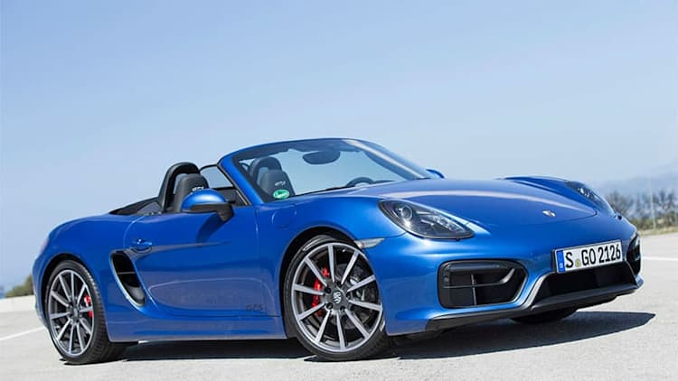 Porsche Boxster and Cayman 4-cyl rated from 240 hp to 370 hp