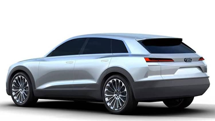 Is this the Audi C-BEV Concept?