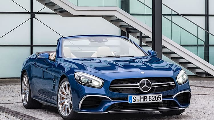 2017 Mercedes SL gets more beauty, power, and equipment