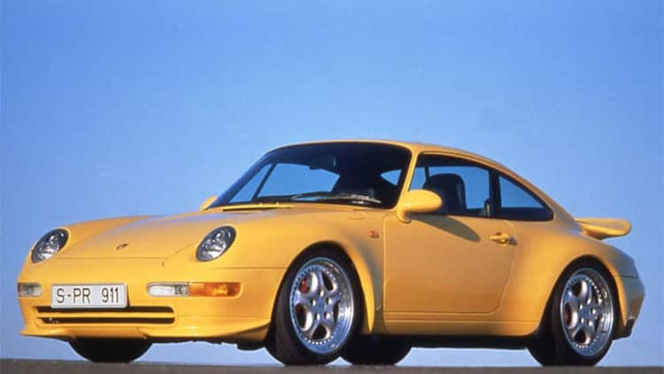 What's driving the spike in air-cooled Porsche 911 prices