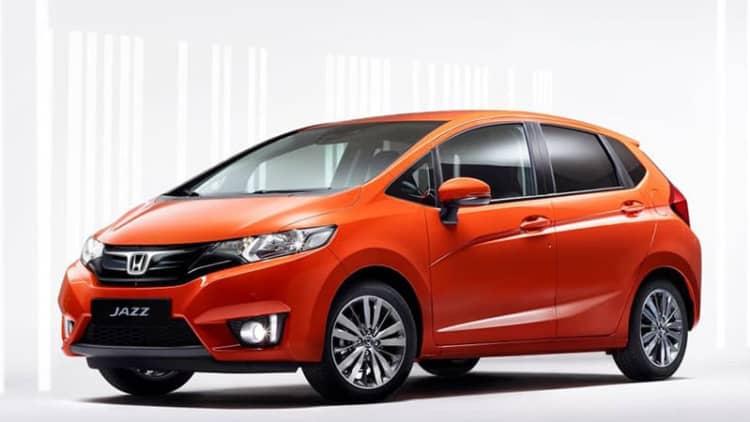 Honda shows off 2015 Euro-market Jazz
