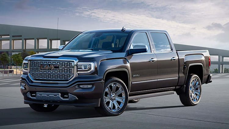 2016 GMC Sierra Denali Ultimate wants to take even more off the top