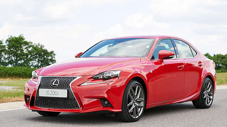 Lexus IS 200t gets a 245 hp turbo four-cylinder, comes here in 2016