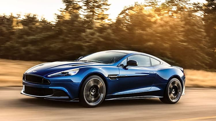 Aston Martin Vanquish S gets harder, better, faster