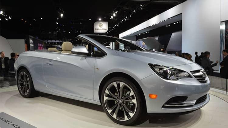 Buick Cascada will start at $33,990