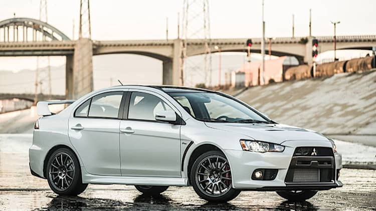 Mitsubishi Evolution Final Edition goes out with a bang
