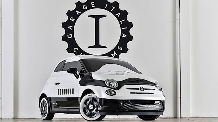 Stormtrooper-painted Fiat 500 brings Star Wars to LA Auto Show