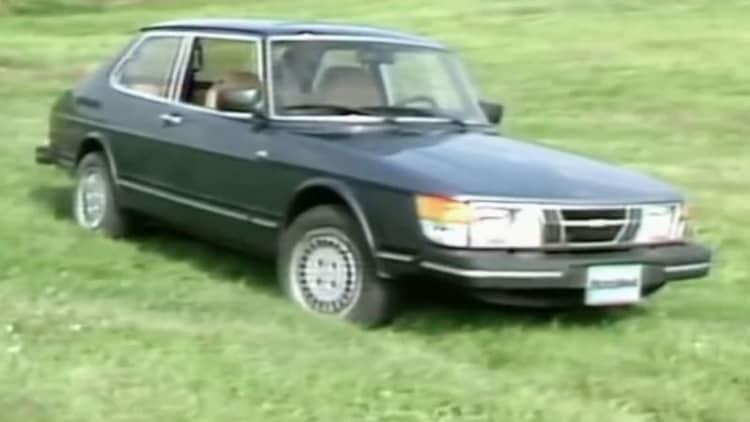 Motorweek looks back at 1983 Saab 900S