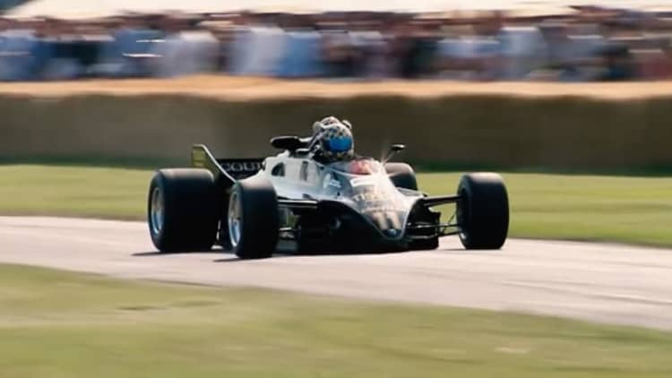 Banned Lotus 88 F1 car explained by Colin Chapman's son