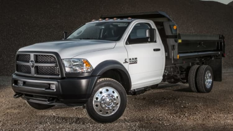 FCA recalls Ram dualie chassis cabs to recalibrate top speed