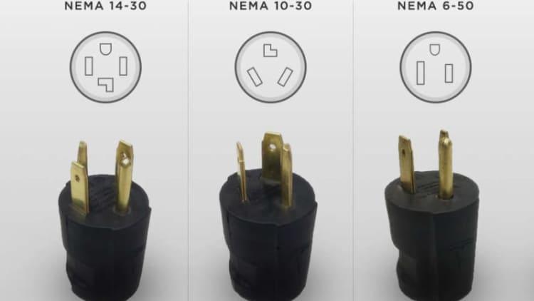 Tesla recalls 2,000 NEMA 14-30 charging adapters