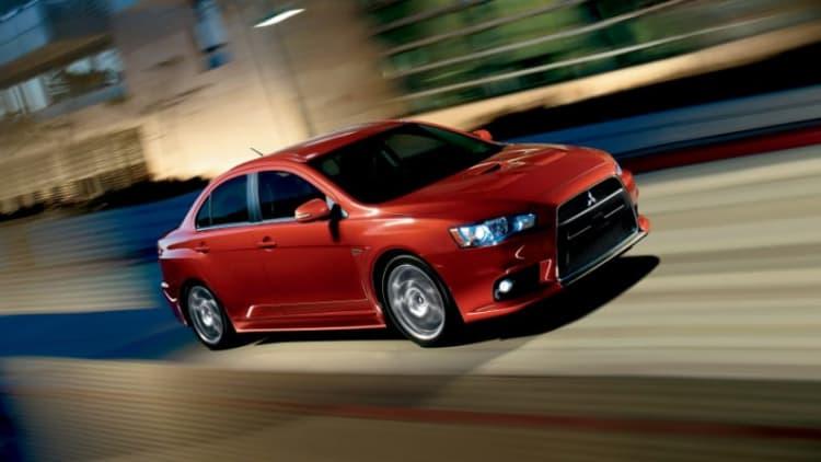 1,500 Mitsubishi Lancer Evo, Ralliart models recalled for fuel tank wear