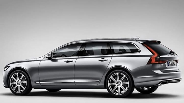 Volvo V90 wagon looks great in early leak