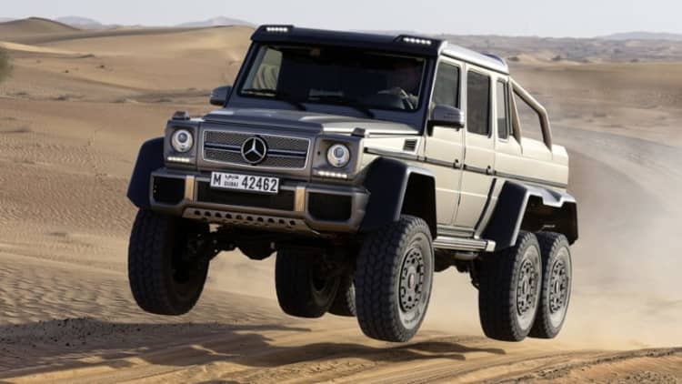 Mercedes G63 AMG 6x6 is sold out