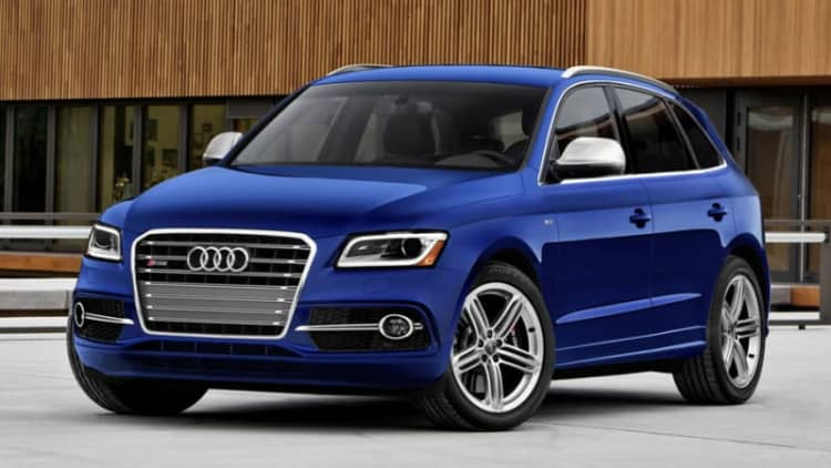 2014-15 Audi Sq5 Recalled For
