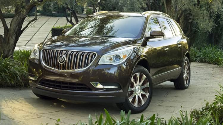 Buick Enclave gets continental makeover with Tuscan trim