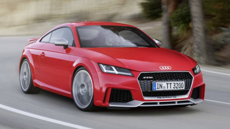 2017 Audi TT RS arrives with 400 horsepower