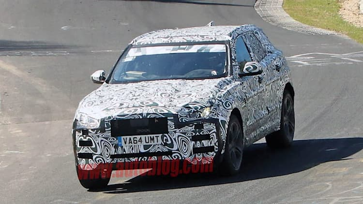 Jaguar F-Pace prototype goes to work at the Nurburgring