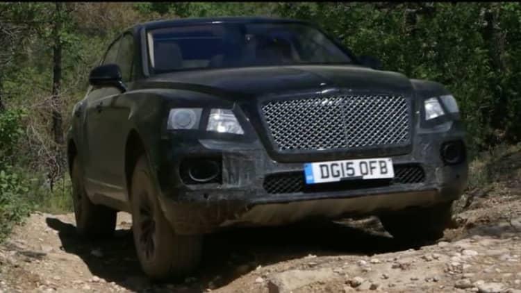 Here's the Bentley Bentayga actually going off-road