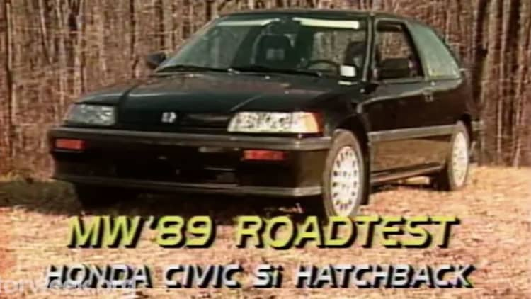 Remembering the glory days of the Honda Civic Si