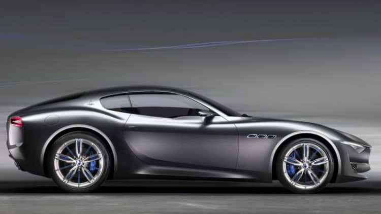 Maserati's electric Alfieri two-seater coming in 2020