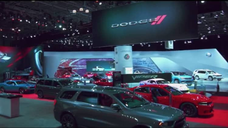 Experience the New York Auto Show by drone